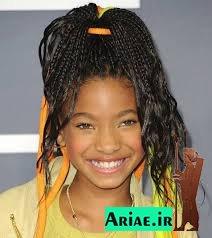 مدل بافت موی آفریقایی