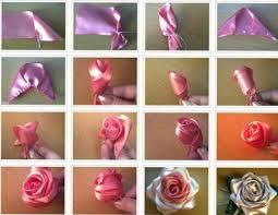 گل با روبان