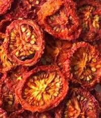 سیر و گوجه خشک