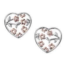 مدل گوشواره های طرح قلب