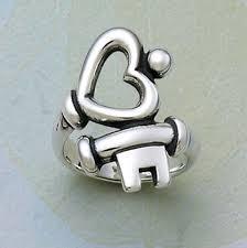 مدل های زیبای انگشتر با طرحی از قلب