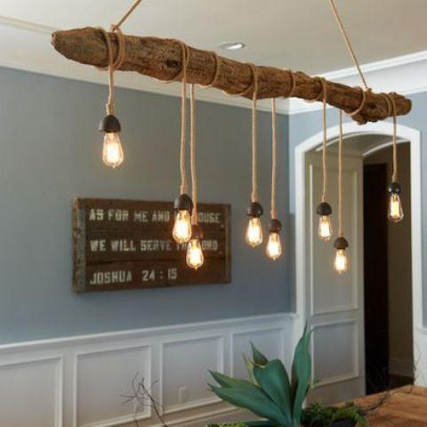 خلاقیت در دکوراسیون منزل با عناصر طبیعی !