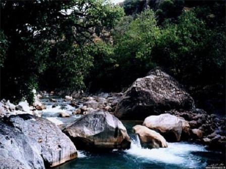 تنگه زیبای علیشاهی در طبیعت استان فارس