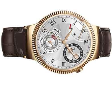 ساعت هوآوی با روکش طلا