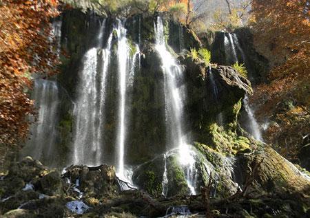 آبشار زردلیمه - اردل