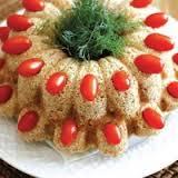 این کیک خوشمزه با بوقلمون