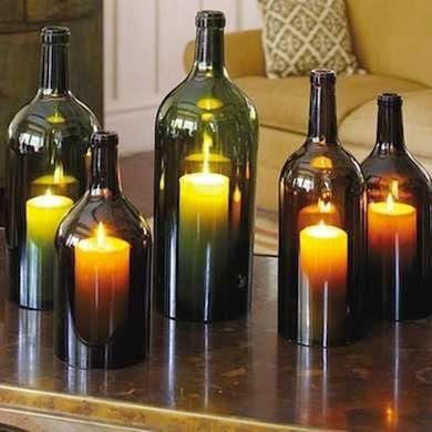 ایده هایی جالب برای ساخت لوستر با بطری