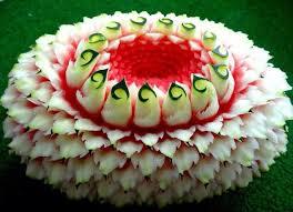 زیباترین تزئینات هندوانه شب یلدا آسان و حرفه ای