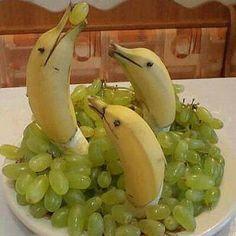 ایده هایی برای تزئینات میوه های شب یلدا