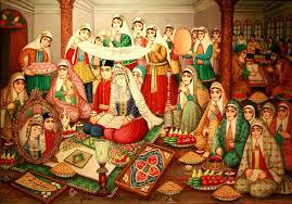 آداب و رسوم شب زفاف در ایران قدیم