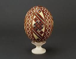 آموزش ایده هایی برای نقاشی روی تخم شتر مرغ