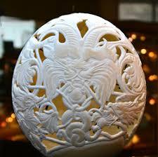 آموزش خراطی روی تخم شترمرغ