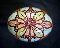 آموزش ایده هایی برای نقاشی روی پوست تخم شترمرغ