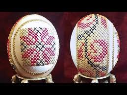آموزش کاردستی با تخم شتر مرغ