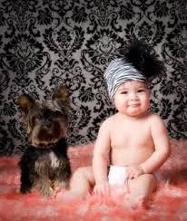 تزئین کلاه کودکان با پر شتر مرغ