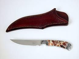 محافظ چاقو از جنس چرم شتر مرغ