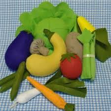 آموزش میوه های نمدی