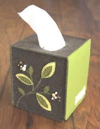 آموزش جعبه دستمال کاغذی نمدی