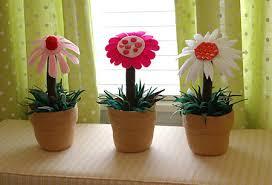 آموزش گلدان نمدی